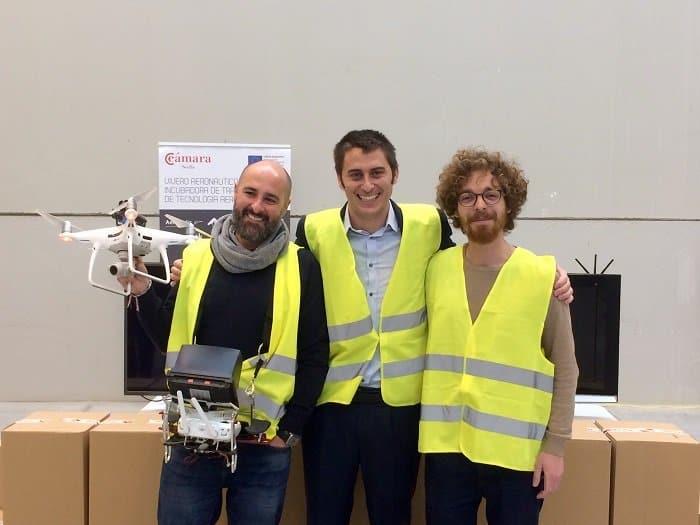 Una empresa sevillana revoluciona el sistema de logística con tecnología dron