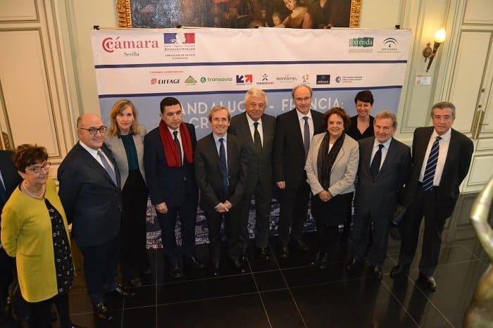 El Embajador de Francia en España anima a los empresarios andaluces a seguir fortaleciendo el proyecto común en Europa