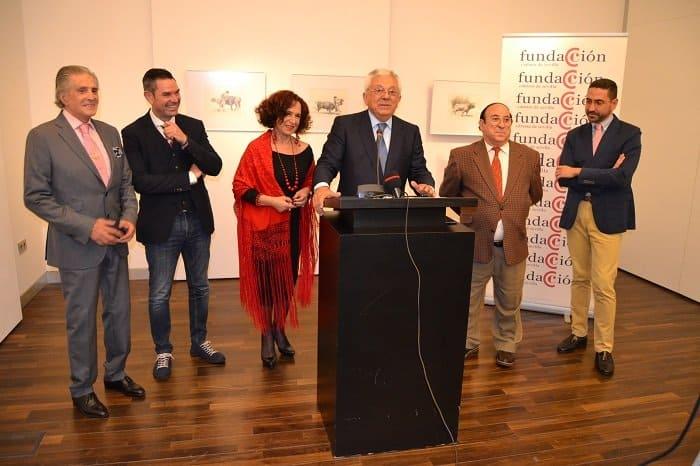 """La Fundación Cámara de Comercio de Sevilla acoge la exposición pictórica """"Traje de Luces"""""""