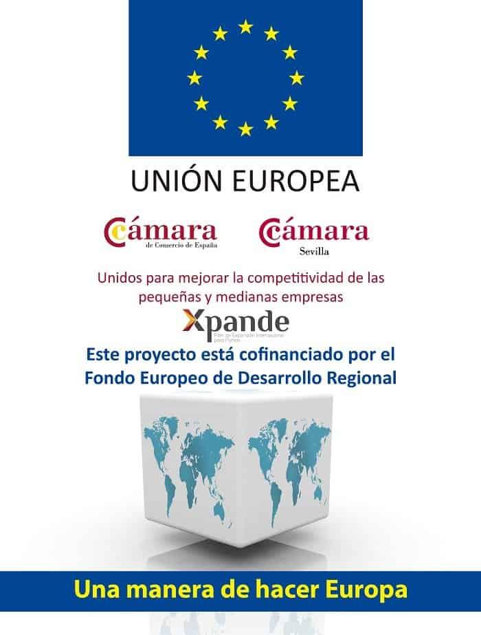 La Cámara de Sevilla ayudará a más de 60 pymes a salir al exterior gracias a losProgramas Xpande y Xpande Digital