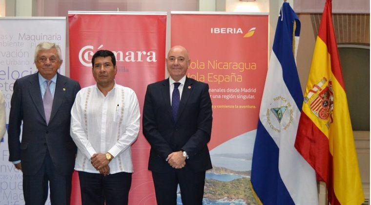 IBERIA PRESENTA EN LA CÁMARA DE COMERCIO DE SEVILLA SU NUEVA CONEXIÓN A NICARAGUA