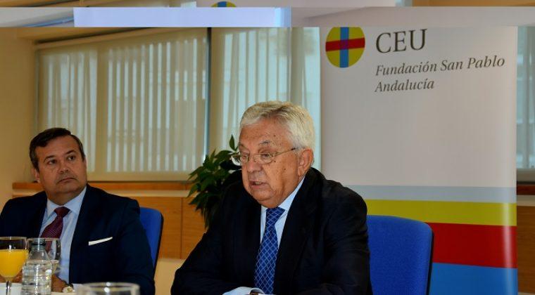 Francisco Herrero pide a las Administraciones Públicas que sumen, para dotar a Sevilla de las infraestructuras que necesita