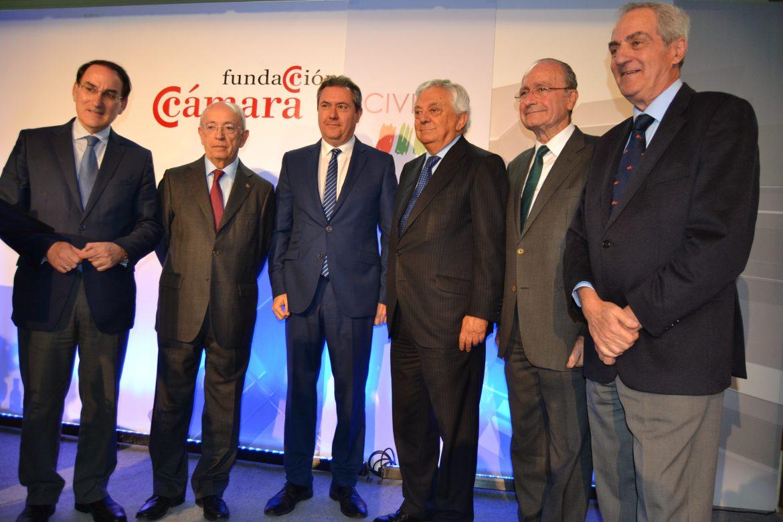 Conferencia del Alcalde de Málaga en la Fundación Cámara Sevilla