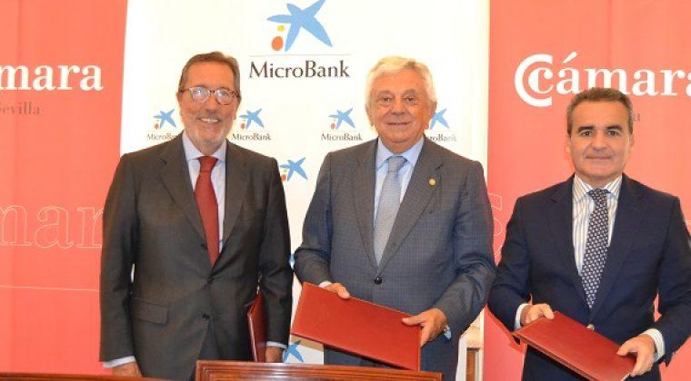 Convenio: Cámara-MicroBank para incentivarel autoempleo