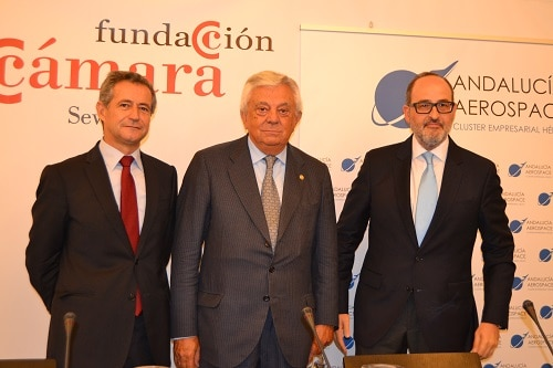 Conferencia del presidente de Andalucía Aerospace