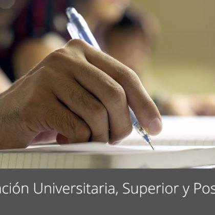 Programas de Formación Universitaria, Formación Profesional y Posgrado para autonomos