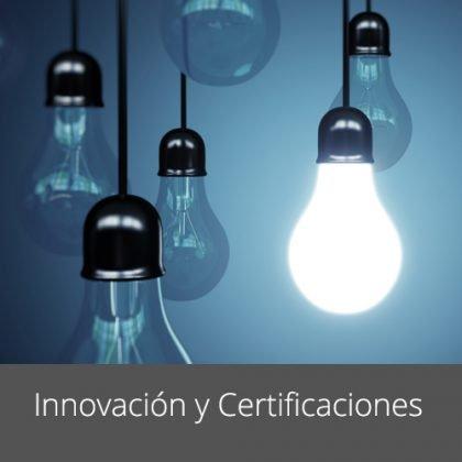 Certificaciones e Innovación