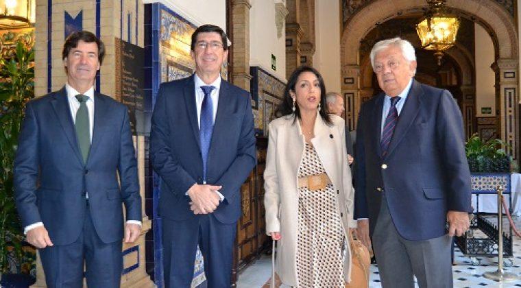 Conferencia del Vicepresidente de la Junta de Andalucía