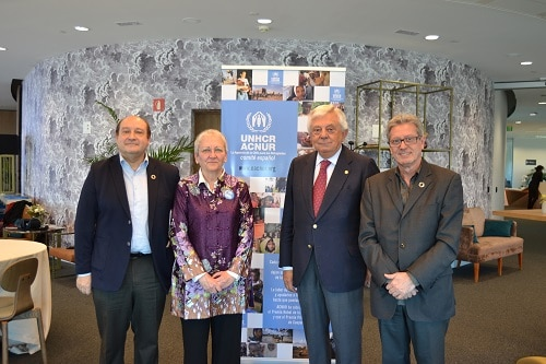 «Inclusión económica y emprendimiento para los refugiados»